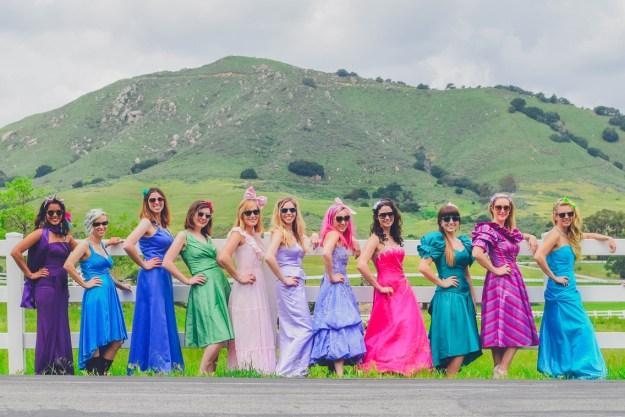 A Madonna Inn Bachelorette Weekend | Ultimate Bridesmaid | Brandi Lopez Photography