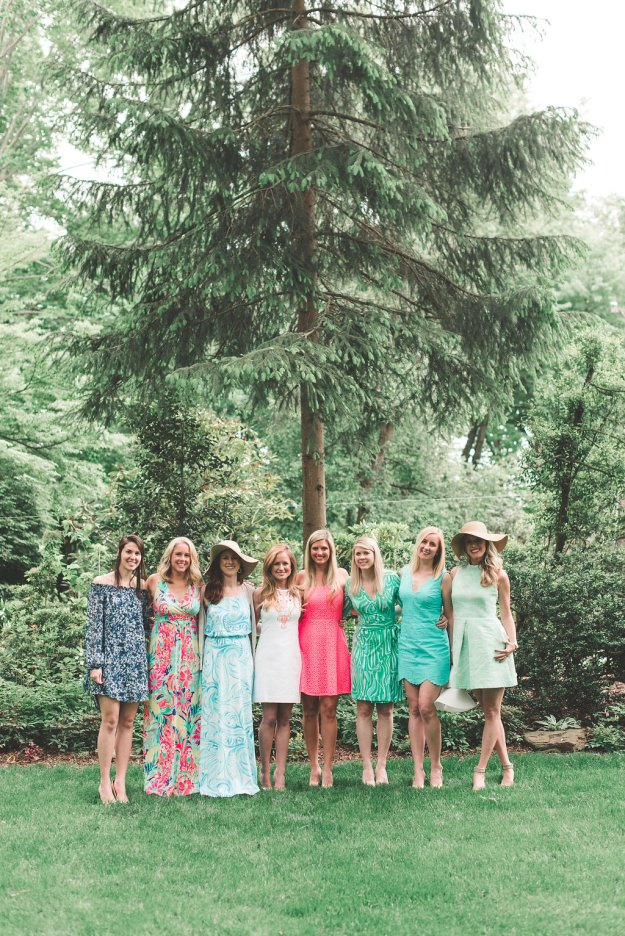 A Southern Charm Bridal Shower North of the Mason-Dixon | Ultimate Bridesmaid | Brittani Elizabeth Photography