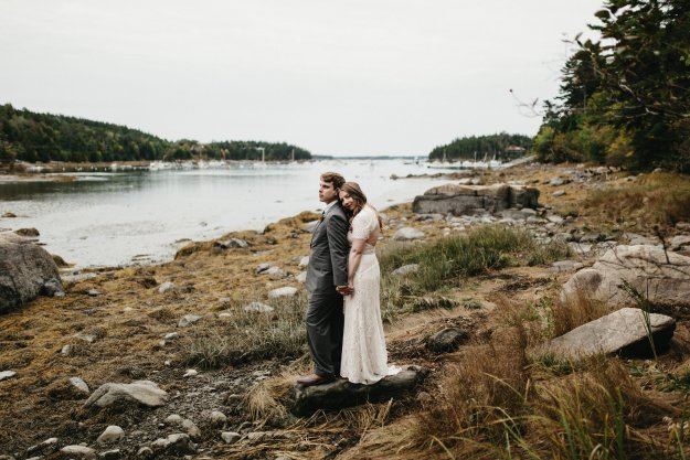Caitlin & Andrew's Northeast Harbor Wedding | Ultimate Bridesmaid | Brett & Jessica Photography