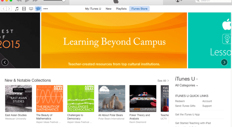 The Ultimate Guide to Creating an iTunes U Course