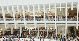 News Flash: The Newly-opened Apple Store in Manhattan