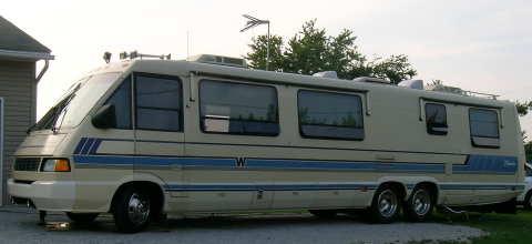 37ft Winnebago Elandin 37-foot 1991 motor home with a 454 Chevy engine got 20% improvement in fuel economy.