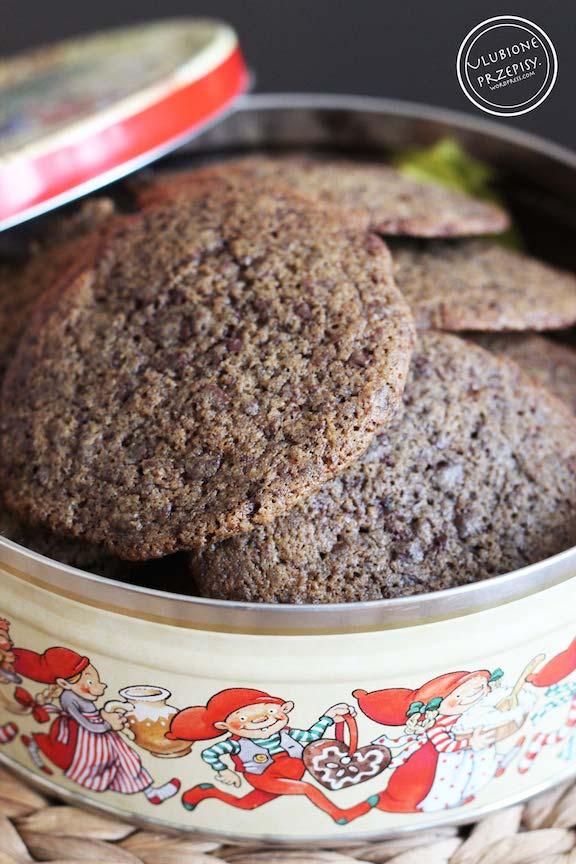 Amerykańskie ciasteczka czekoladowe