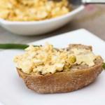 Pasta jajeczna z cebulą
