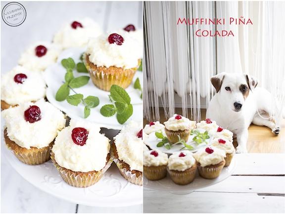 Muffinki Piña Colada