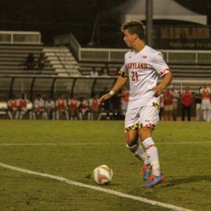 Aaron Franco plays for the UMD soccer team. Photo courtesy of Aaron Franco.