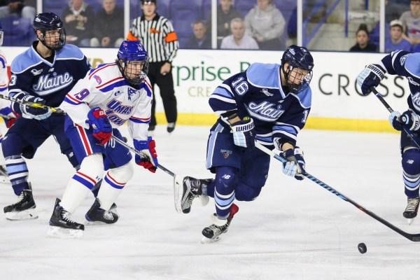 Hockey East: River Hawks Defeat Black Bears 4-1 To Earn Series Split