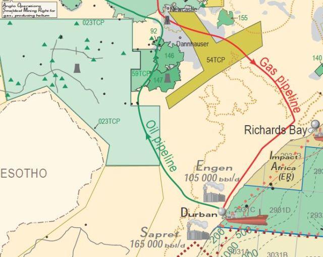 Fracking Midlands map