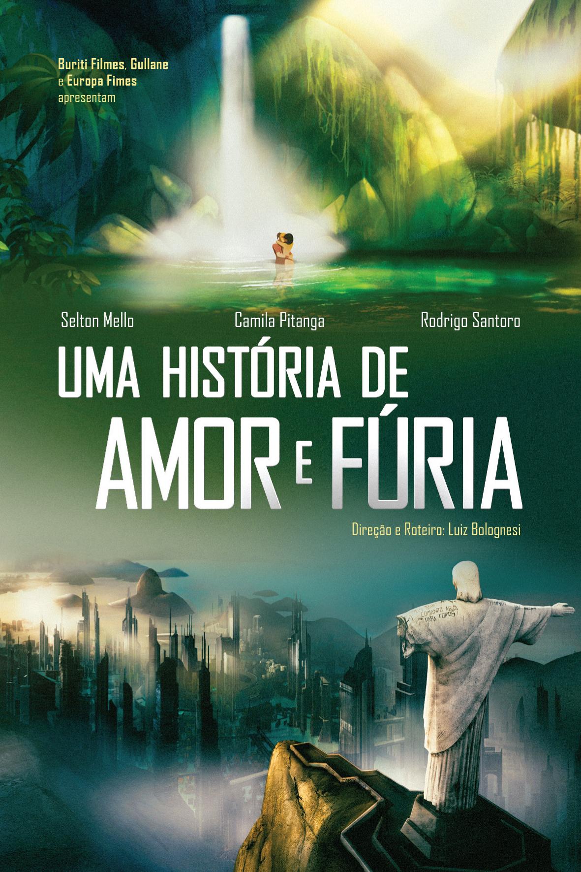 Poster do filme Uma História de Amor e Fúria