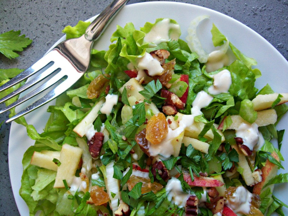 Salade Waldorf aux arômes du Québec