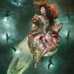 Zena Holloway. Fotos bajo el agua
