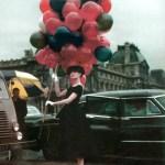 Fotos con globos {Audrey Hepburn} + A diary of lovely
