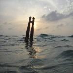 El agua, un refugio visual relajante