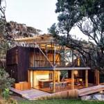 Casas para el verano: Rodeada de árboles Pohutukawa en Nueva Zelanda