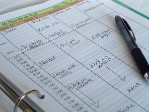 planners, calendario, memoria, olvido. listas