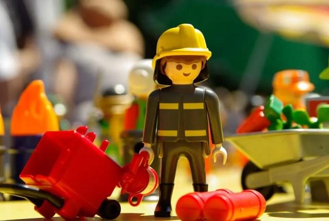 playmobil pompiers