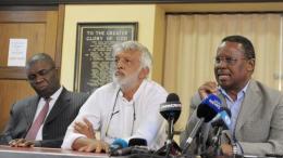 ANC veterans Sydney Mufamadi, Fazel Randera and Reverend Frank Chikane   Picture: Matthews Baloyi