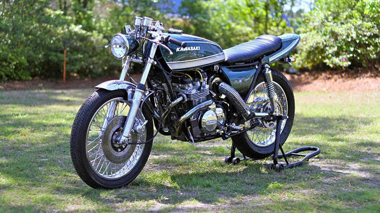 This Kawasaki KZ830 Turbo is Just Like You Would Build It