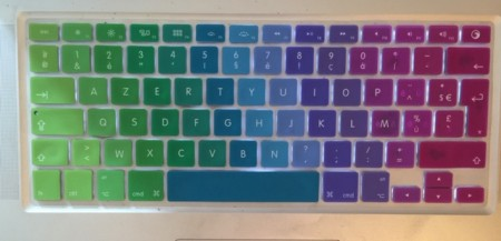 Rainbow Keyboard - (un)Conventional Bookviews