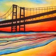 Colorful Narrows Bridge