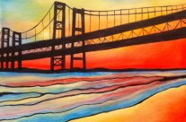 Colorful Narrows Bridge