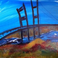 Fisheye Narrows Bridge