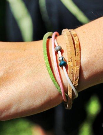 bracelet en liege