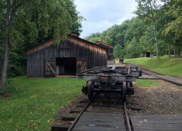 Part of the rep... Logging Camp History
