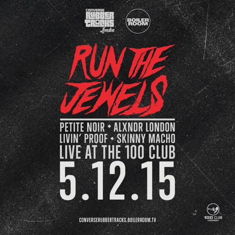 Watch Run The Jewels In full 360 Converse Rubber Tracks X Boiler Room