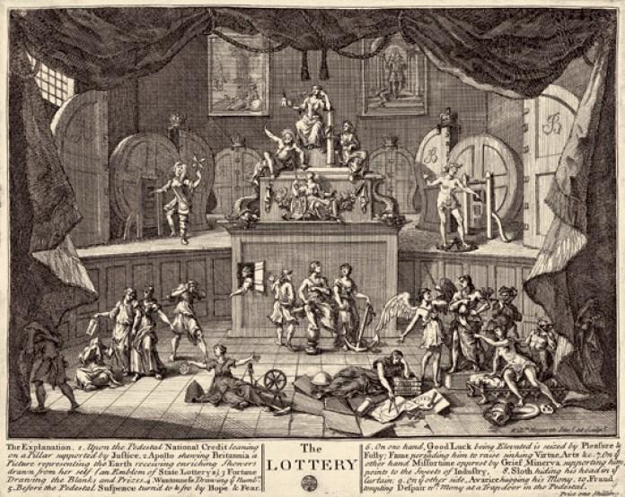 William Hogarth the_lottery