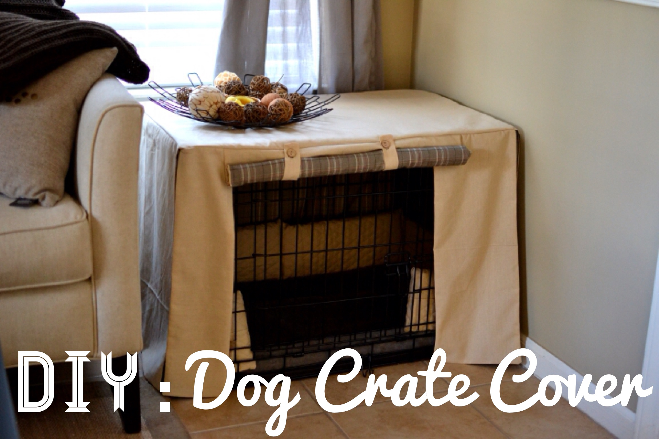 Relaxing Under Oaks Diy Dog Crate Cover Dog Crate Cover Under Oaks Dog Crate Covers 36 Inch Dog Crate Covers Nz bark post Dog Crate Covers
