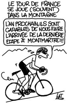 Un Tour de France pour les grimpeurs