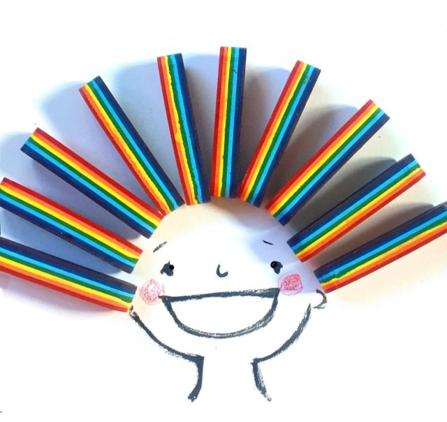 amy sicuro rainbow kid