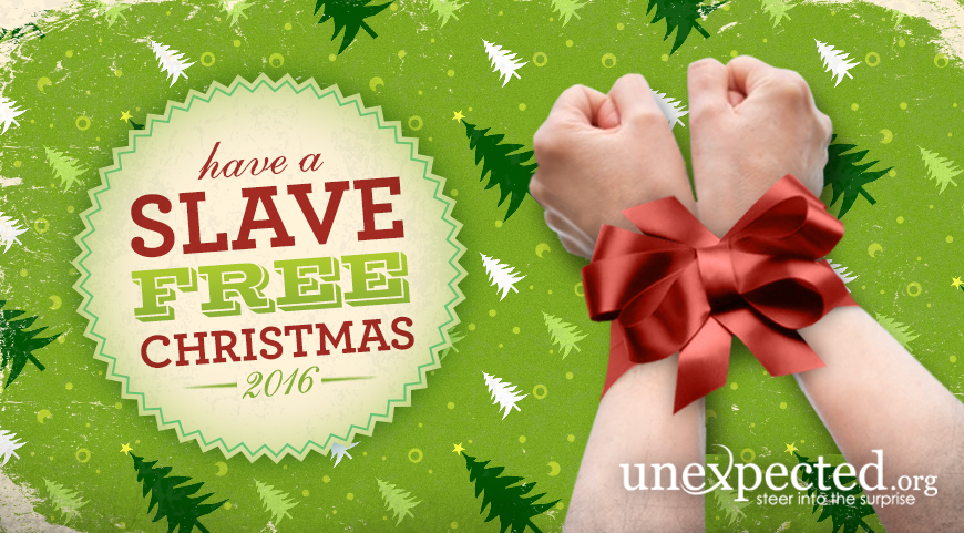 25 Days of Slave-Free Christmas
