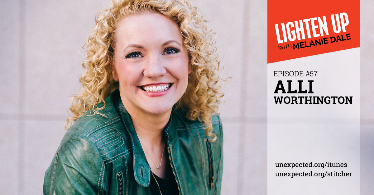 Lighten Up #57: Alli Worthington
