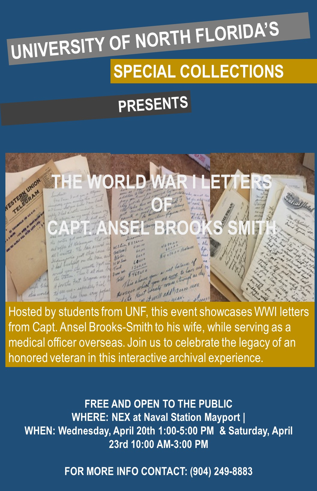 The World War I Letters of Capt. Ansel Brooks-Smith
