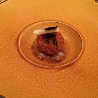 Kumquat croquette
