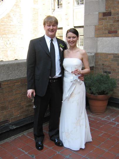 Kathleen and Harlan's wedding