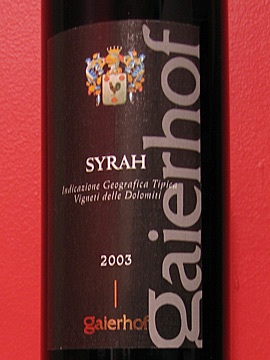 Gaierhof Syrah