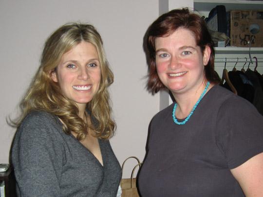 Emily and Heidi