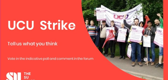 The SU Will Not Support UCU Strikes