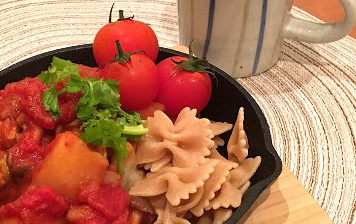 トマトチキン煮込み