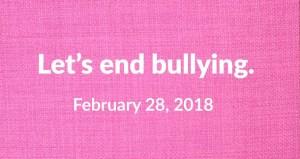 Pink Shirt day 2018