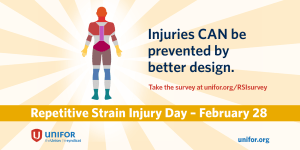 Repetitive strain injury day Feb 28