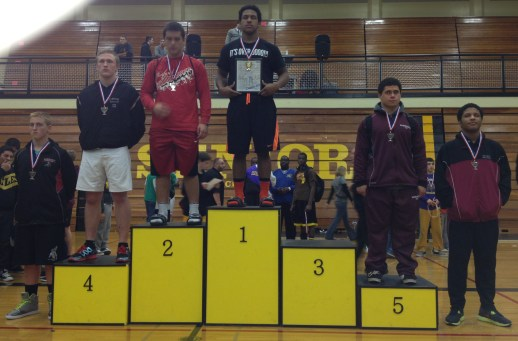 Mason on Pac Coast podium