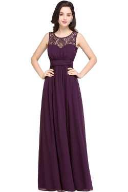 Soothing Purple Purple Navy Blue Lace Chiffon Long Bridesmaid Dress Long Bridesmaid Dresses Sleeves Long Bridesmaid Dresses Sparkle