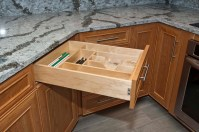 Full Extension Soft close Maple Drawers
