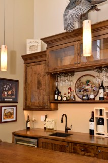 LED Lights & Wine glass hangers