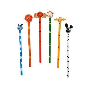 Safari Pencils – wooden animal pencils from Legler - artnomore.co.uk