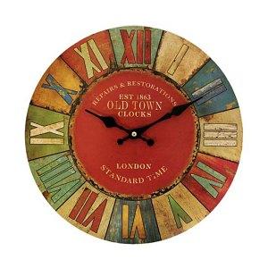 Clock - London Old Town - British design - artnomore.co.uk
